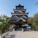 Hiroshima-jo, le château de la carpe